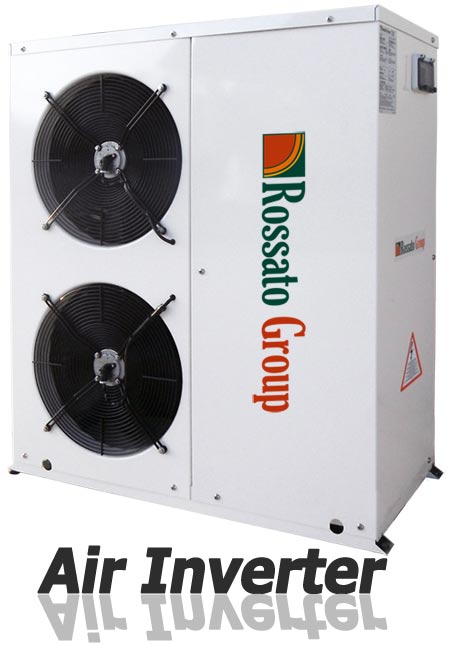 Pompa calore air inverter
