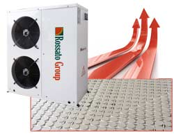 radiant heat pump