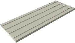 Panel siolante linear