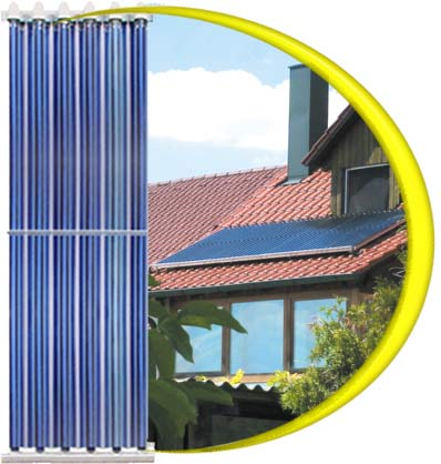 solar thermal vacuum