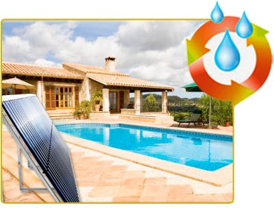 thermal solar panels for swimming pools