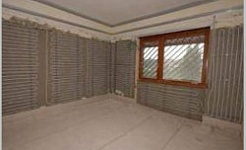 Wall heating and ceiling renovation