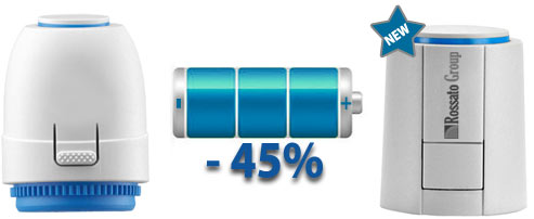 Actuators energy savings
