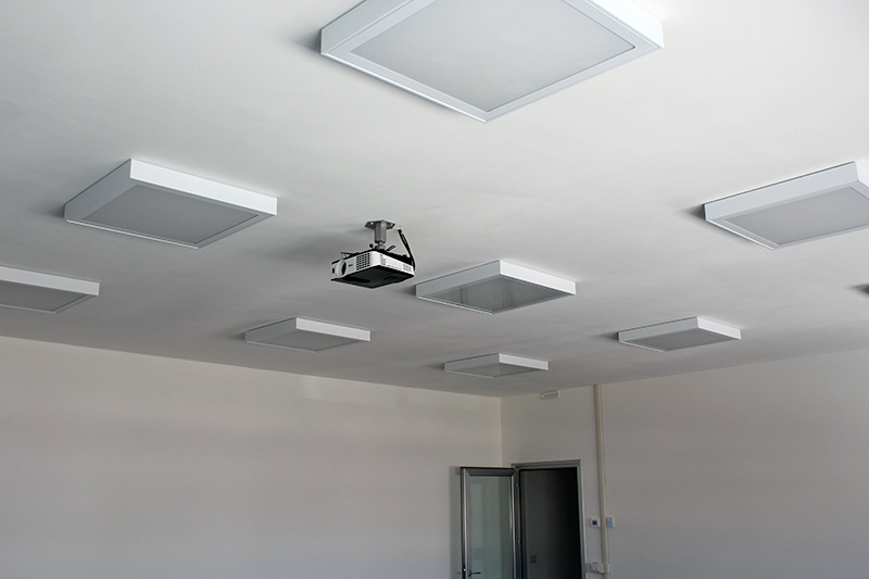 Ceiling training room