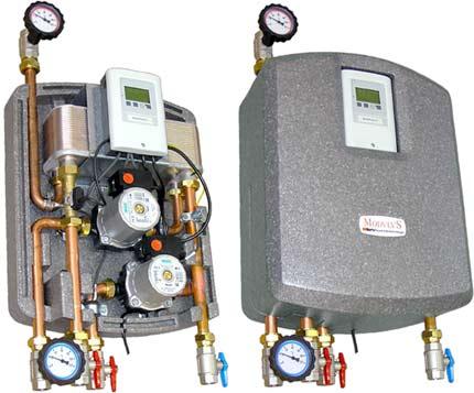 Station d'eau chaude électroniques