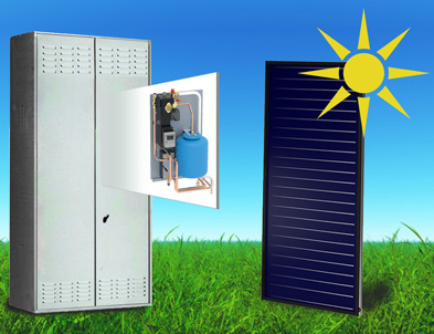 Inverter heat pump Solar thermal kit