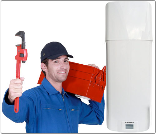 installation of heat pump water heaters
