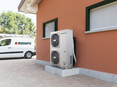 Pompe di calore alta efficienza Rossato