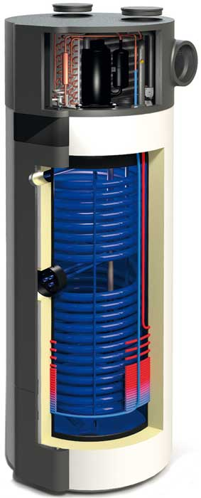 Heat pump hot water Combo