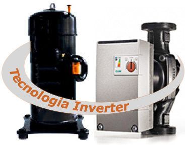 Compressor pump inverter