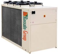 Heat pump for large systems
