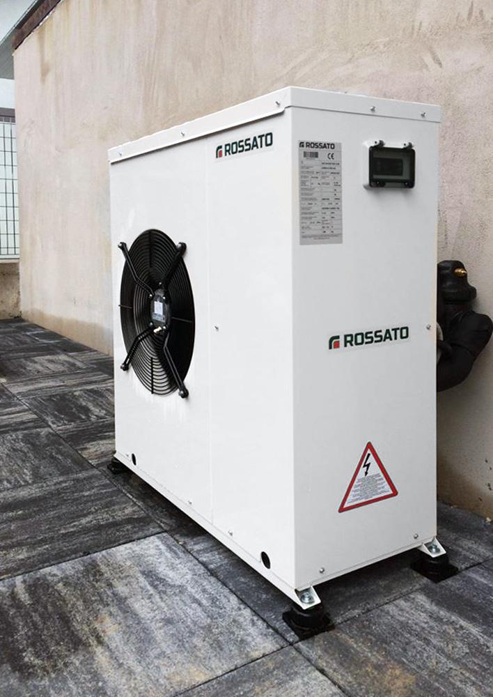 Inverter heat pump for green building