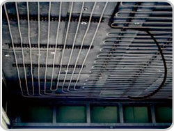 Heat pump systems and ceiling