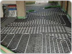 Fußbodenheizung Kindergarten