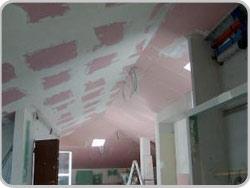 Chauffage et de refroidissement plafond en placoplâtre