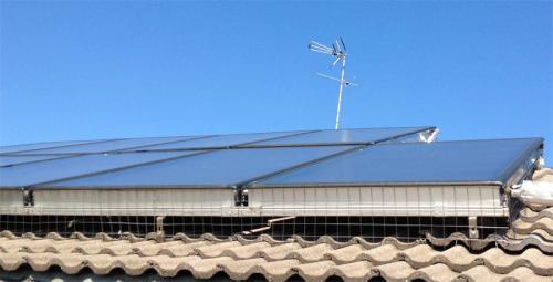 Solar thermal panels Veneto