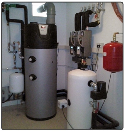 heat pump pumping greuppi