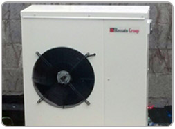 Heat pump for vila