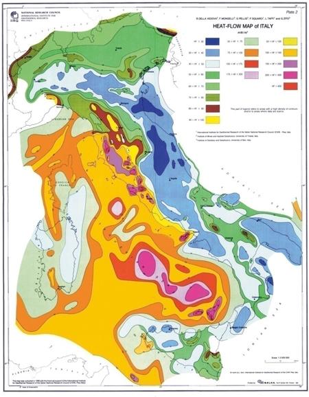 geothermische Italien Vorteile