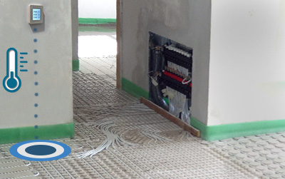 radiant environmental cooling management