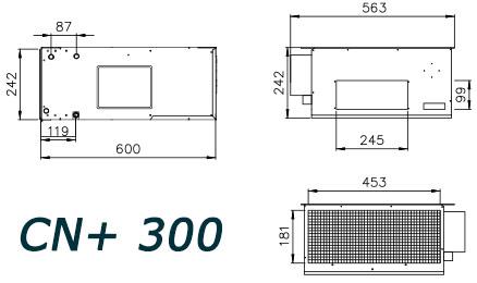 dimensionnel CN300