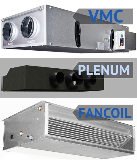Vmc plenum climate ventilation