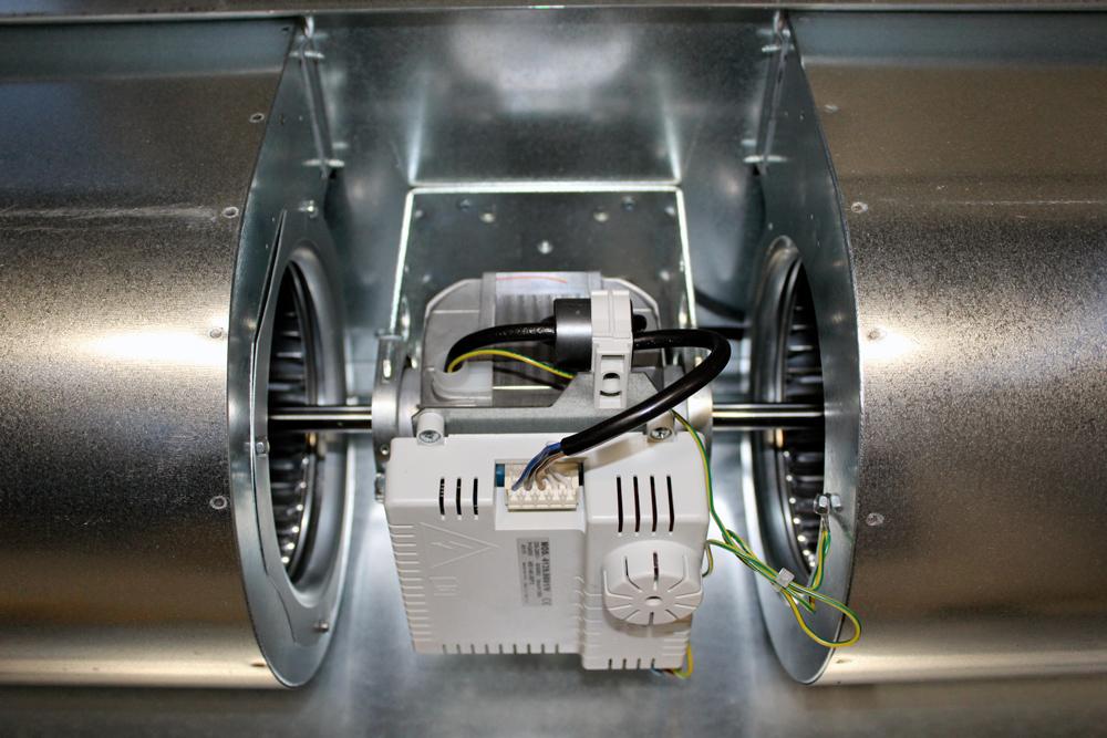 ventiladores del motor