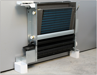fan coil minimum thickness