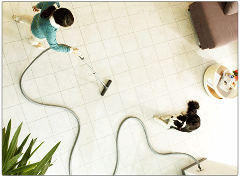 sistema de limpieza de succión