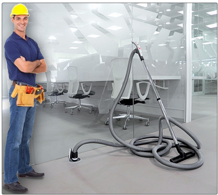 Central vacuum cleaner installer