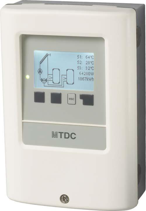 Regulador solar MTDC