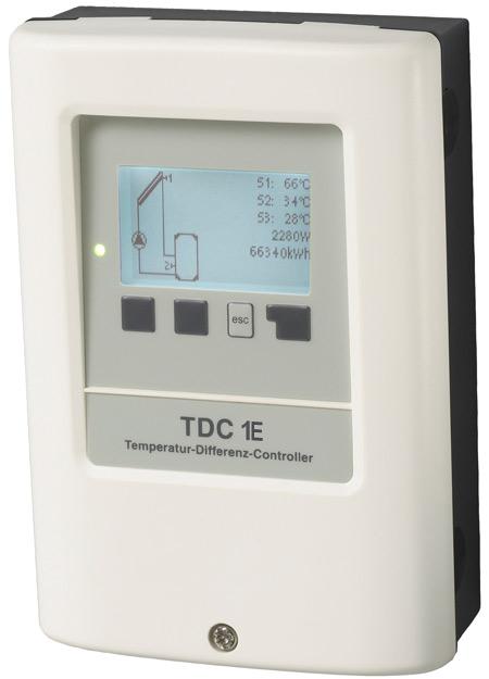 Régulateur solaire TDC1