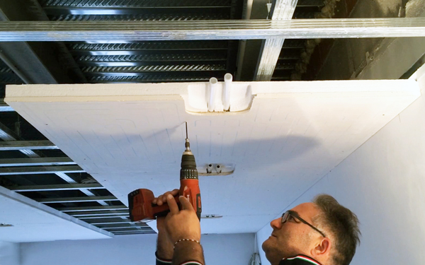 installing radiant