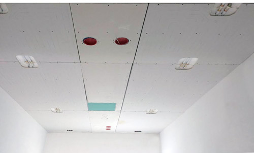 soffitto radiante