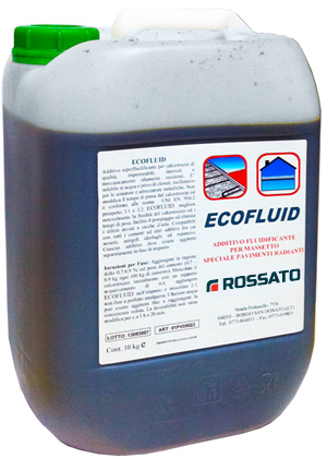 Ecofluid additive for radiant systems