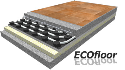 floor heating ECOFLOOR