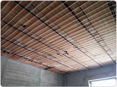 Ceiling radiant system