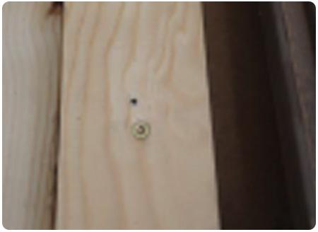 Befestigungs Fliese FKE Holz