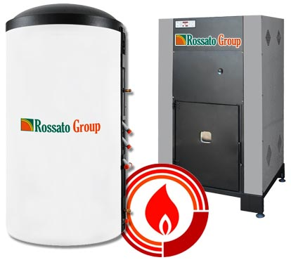 Thermal storage for boilers and stoves