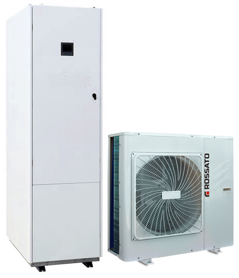 Inverter built-in heat pump