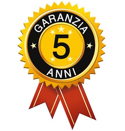 Rossato 5 contract warranty years