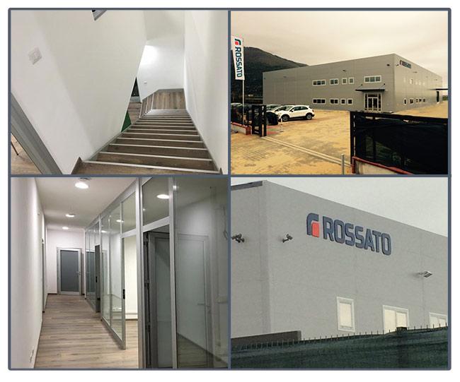Sermoneta Rossato neue Zentrale