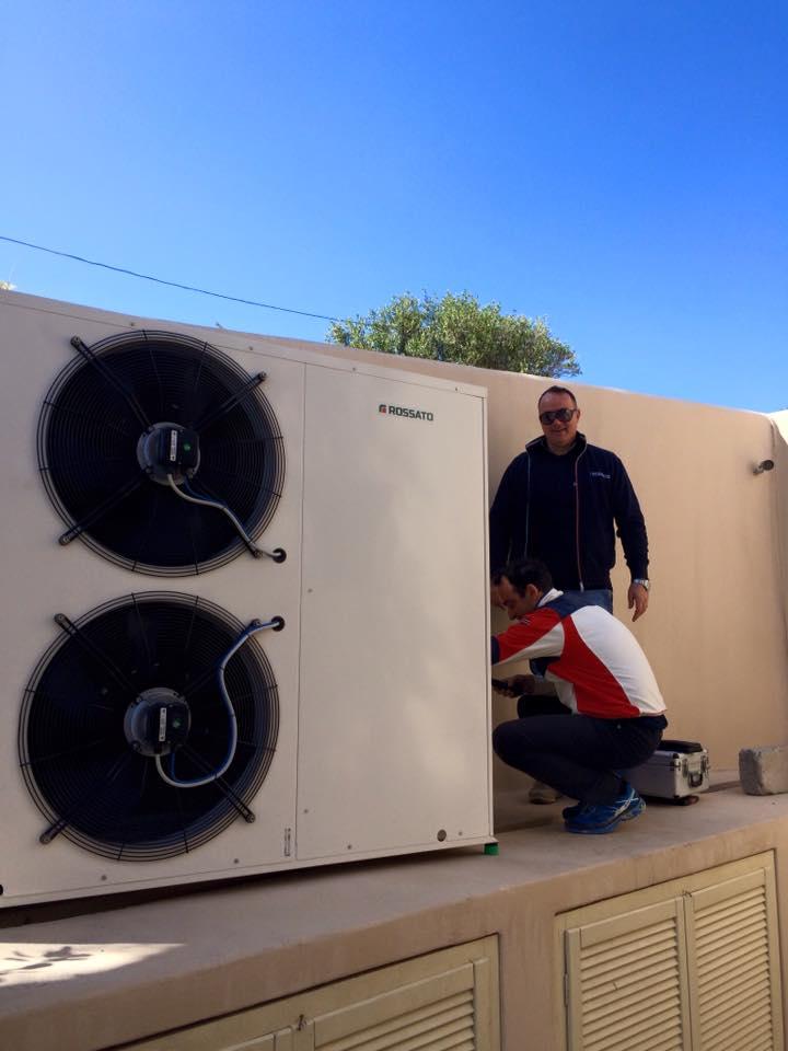 heat pump Voreina
