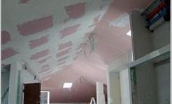 Calefacción y refrigeración techo de cartón
