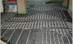 Underfloor heating kindergarten