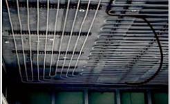 Los sistemas de bomba de calor y el techo