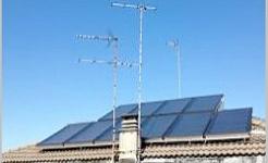 Calentamiento de agua caliente sanitaria con energía solar