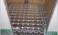 Calefacción por suelo radiante para casas prefabricadas de madera