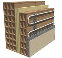 Courses radiant systems